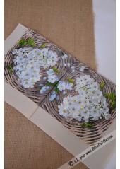 20 Serviettes Fleurs de pommier
