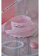 10M dentelle rose 10mm Margot