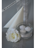 8 Bougies flottantes blanc