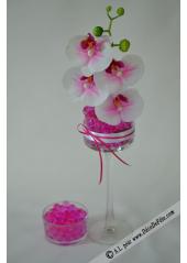 20G perles d'eau fushia