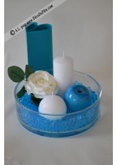 20G perles d'eau turquoise