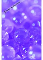 20G perles d'eau violet parme
