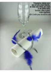 2g Plume mode bleu roy