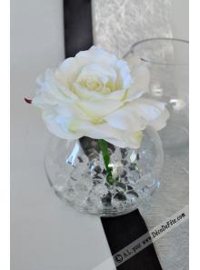 1 vase BOULE verre 11cm