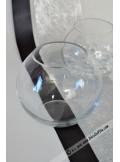 1 vase BOULE verre 13cm