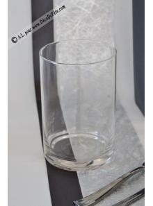 1 vase ROND verre 15cm