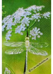 20 Serviettes libellule