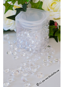 110G Pluie de diamants TRANSPARENT