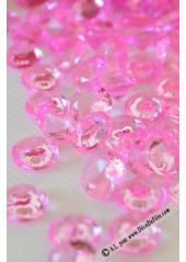 110G Pluie de diamants FUSHIA