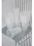 100 verres plastic transparent 20/23cl