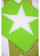 20 Serviettes STAR anis