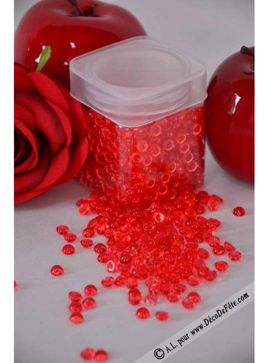 perle de pluie rouge deco de table. Black Bedroom Furniture Sets. Home Design Ideas