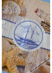 20 Serviettes souvenirs de mer