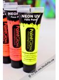 1 tube body paint fluo jaune