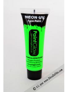 1 tube body paint fluo vert