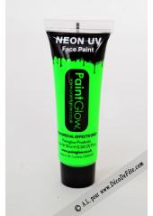 1 tube face paint fluo vert
