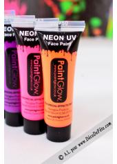 1 tube face paint fluo orange