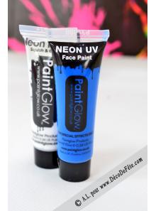 1 tube face paint fluo violet