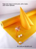 10M Nappe jetable presto mandarine