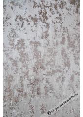 5M chemin de table feuilles d'ARGENT