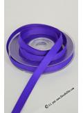 20m Ruban 10mm gros grain violet