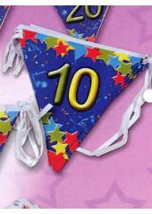 1 guirlande 10 ans