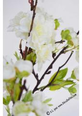 1 branche de cerisier en fleur blanc