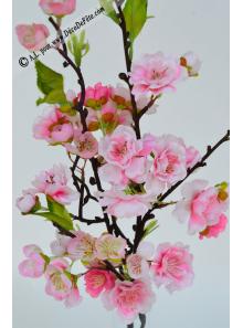 1 branche de cerisier rose