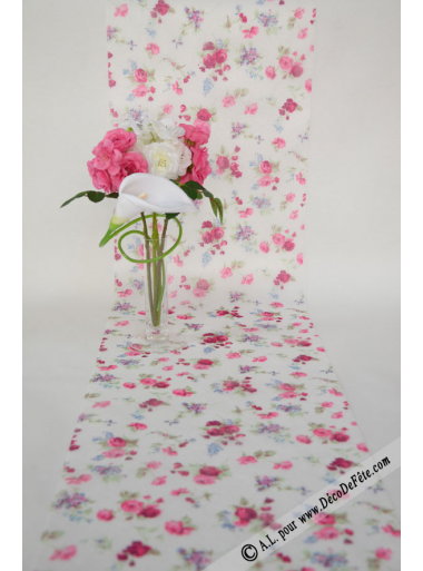 5M Chemin de table liberty ROSE