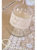 1 vase bouteille ronde 14cm