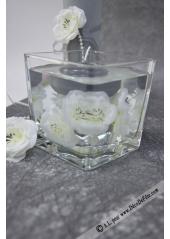 1 vase carré 10cm