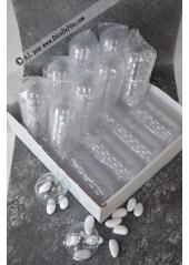 1 Boule transparente 5cm par carton de 100