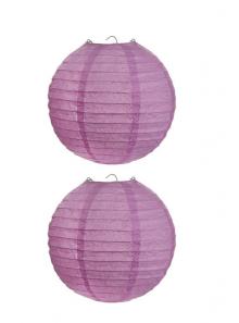 2 Lanternes PARME 20 cm