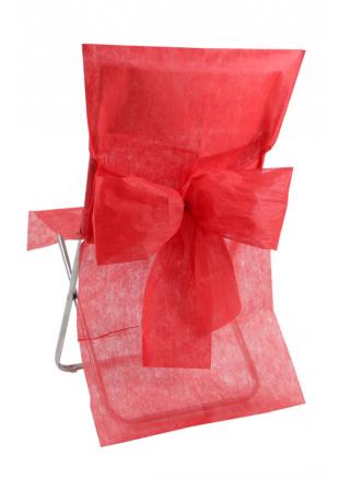 10 housses de chaise rouge for Housse de chaise rouge