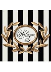 20 Serviettes Bienvenue