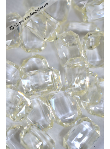 100 gr diamants rectangle CHAMPAGNE
