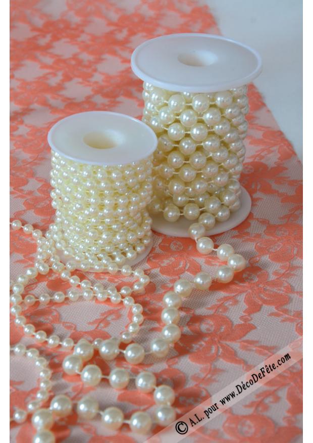 3m guirlande de perles greta. Black Bedroom Furniture Sets. Home Design Ideas
