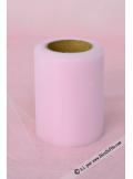 20M Tulle 8cm déco rose