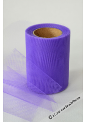 20M Tulle 8cm déco violet