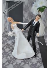 1 couple de marié PISE