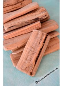250Gr lame de bois naturel 10/12cm