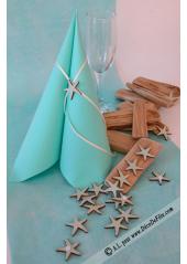 18 ETOILES DE MER bleu aqua