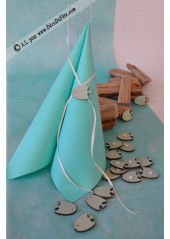 18 POISSONS TROPICAUX bleu aqua