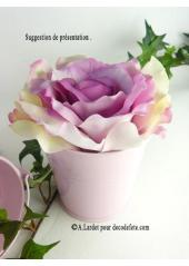1 grand seau rose