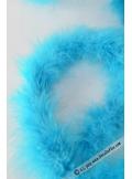 1 boa marabout turquoise