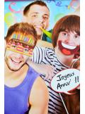 1 kit photobooth JOYEUX ANNIVERSAIRE