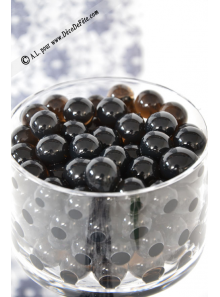 20G perles d'eau noire