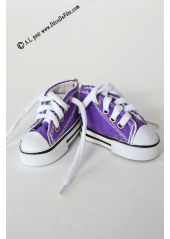 1 Basket porte clés violet
