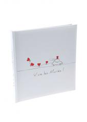 1 Livre d'or VIVE LES MARIES