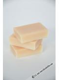 1 mini savon rectangle NOIX DE COCO